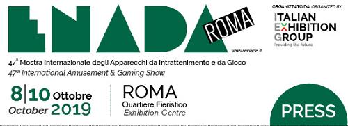 Enada, dall'8 al 10 ottobre al via la 47° edizione della manifestazione degli apparecchi da intrattenimento